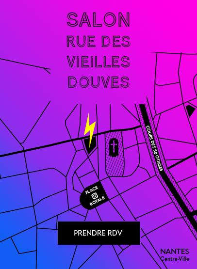 Salon de coiffure rue des vieilles douves à Nantes